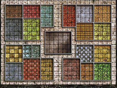 HeroQuest Game Board Layout